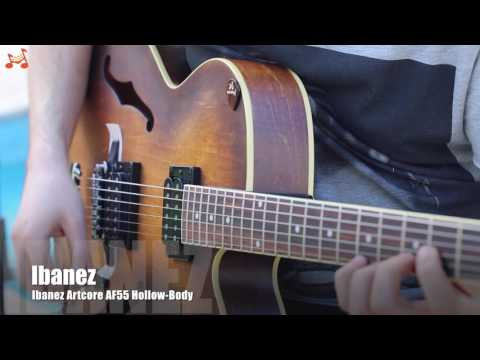 Ibanez Artcore AF55 Review Affordable Hollow-Body Electric Guitar 1