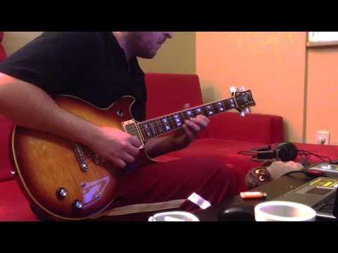 Tamburada Korhan Futacı Saxophone Melody Dolly Guitar Cover 1