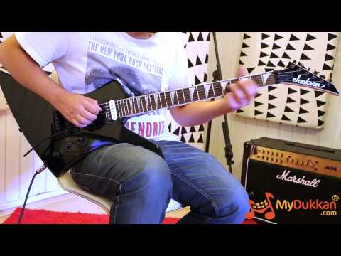 Jackson JS32 Kelly Review With Floyd Rose 1