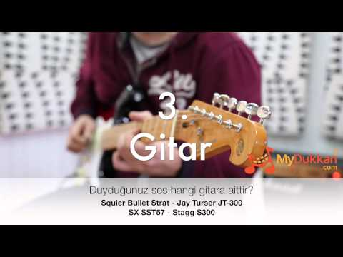 Stratocaster Clones Blind Test: Can you guess? 1