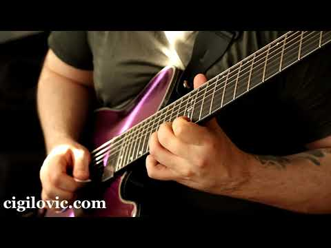 La Bella HRS-73 7 String Review & Whole Step Down Tuning Sound Test 1