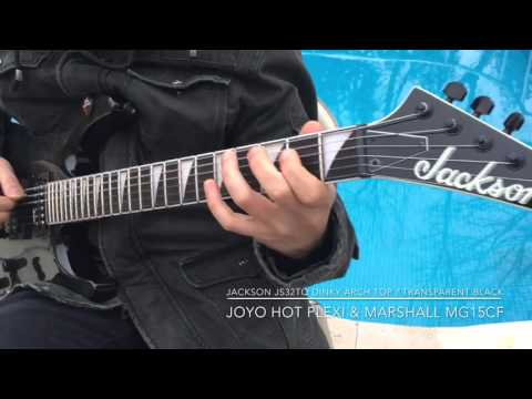 Jackson JS32 Dinky Series Electric Guitar Review Built For Shred 2