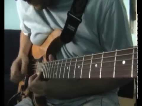 Europe Open Your Heart Guitar Solo Cover 1