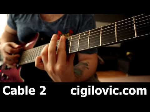 Ernie Ball Instrument Cable (Braided) Review & Blind Test 1