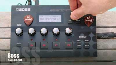 Boss GT-001 Guitar  Processor