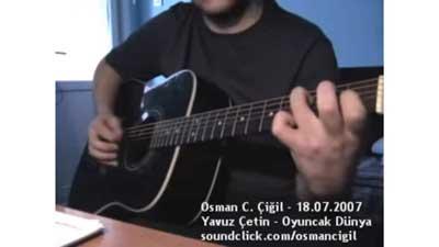 Yavuz Çetin's Oyuncak Dünya Guitar Cover