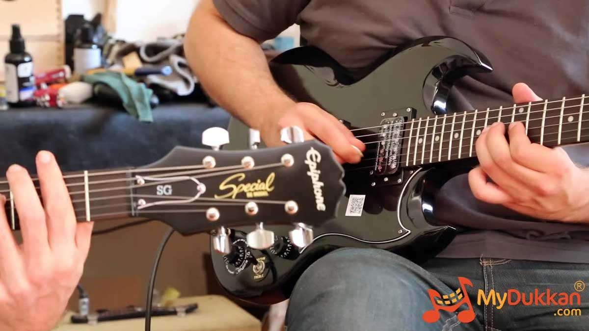 Epiphone SG Special (VE) All Black!