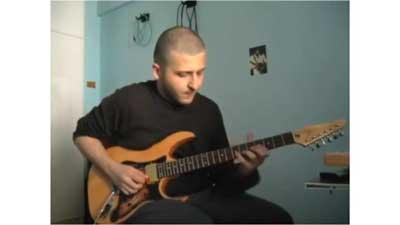 Marco Sfogli's Larry Carlton Style Solo Guitar Cover