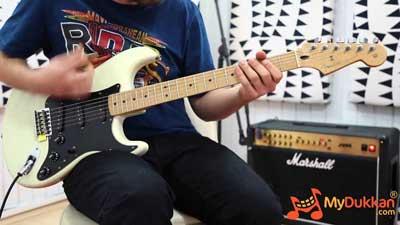 Fender Roadworn Player Stratocaster in action!