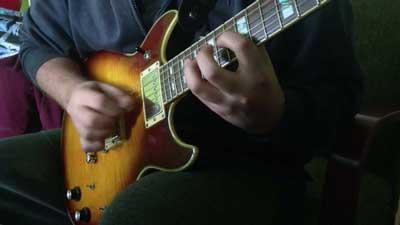 Gürol Ağırbaş Balerin Saxophone Solo on Guitar