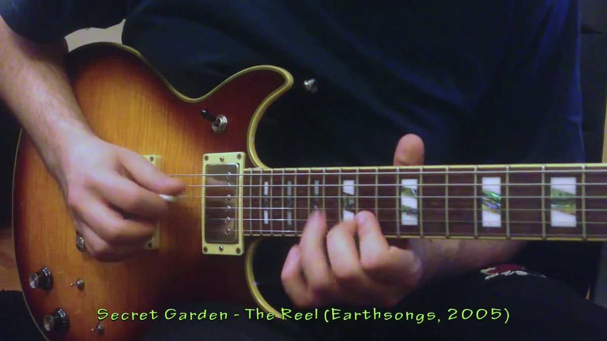 Secret Garden The Reel played on Ibanez AR300RE
