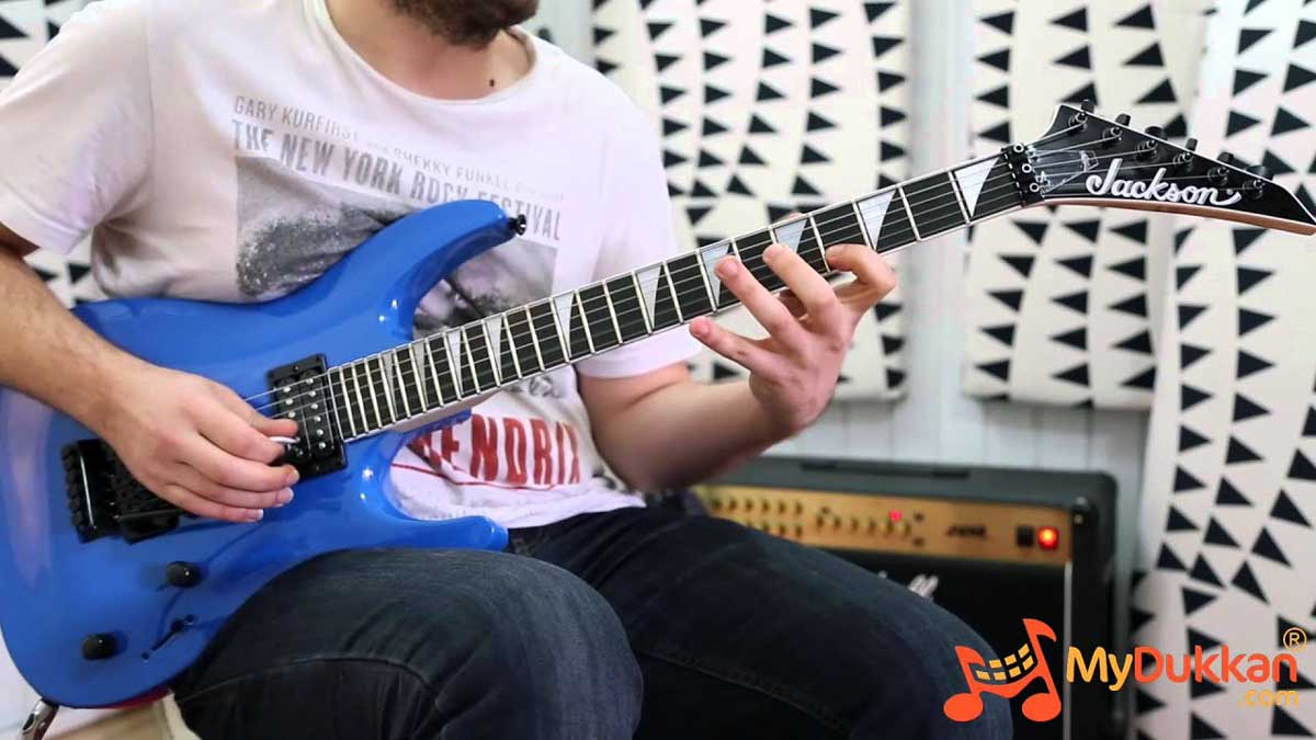 Jackson JS32 Arch Top with Floyd Rose
