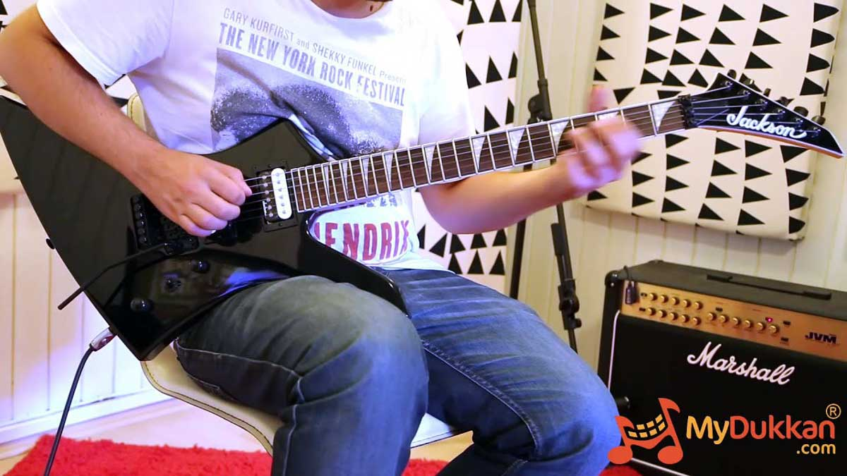 Jackson JS32 Kelly with Floyd Rose