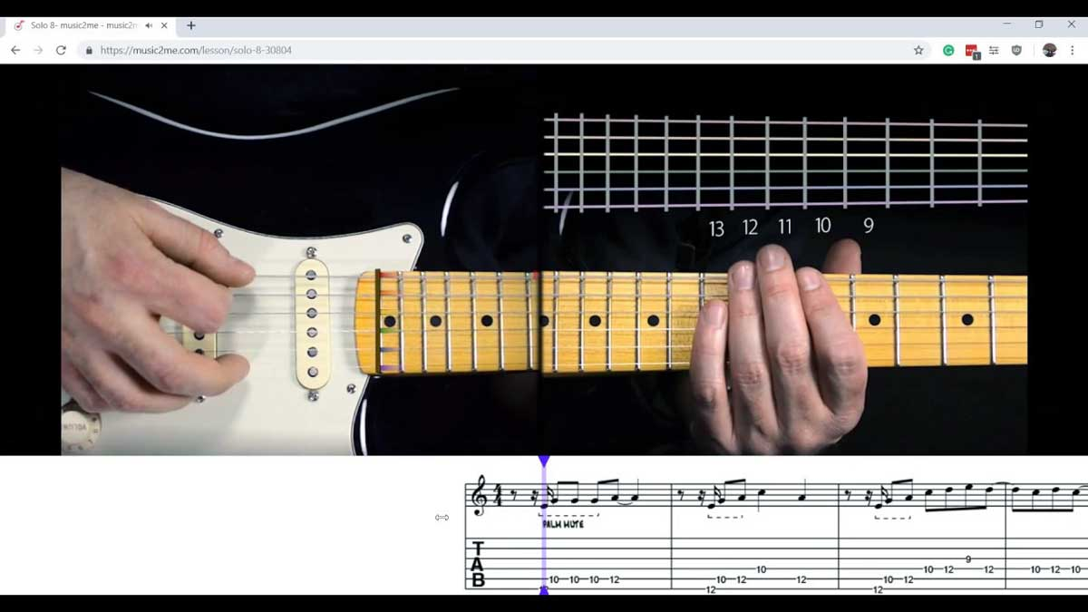 Music2Me Online Guitar Lessons