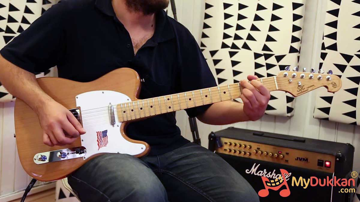 SX STL Alder Telecaster full-length video and review!