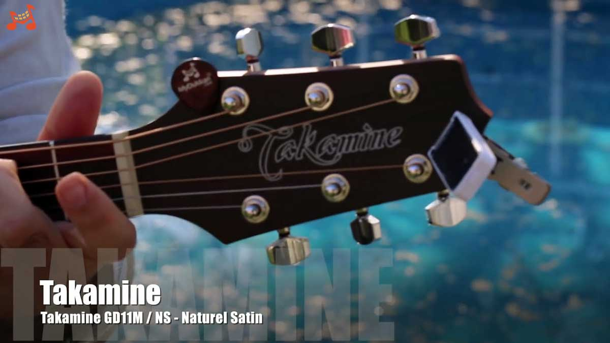 Takamine GD11M & CE Acoustic Guitar