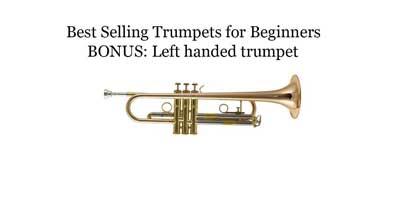 6 Best Selling Trumpets with Left-Handed Bonus Trumpet