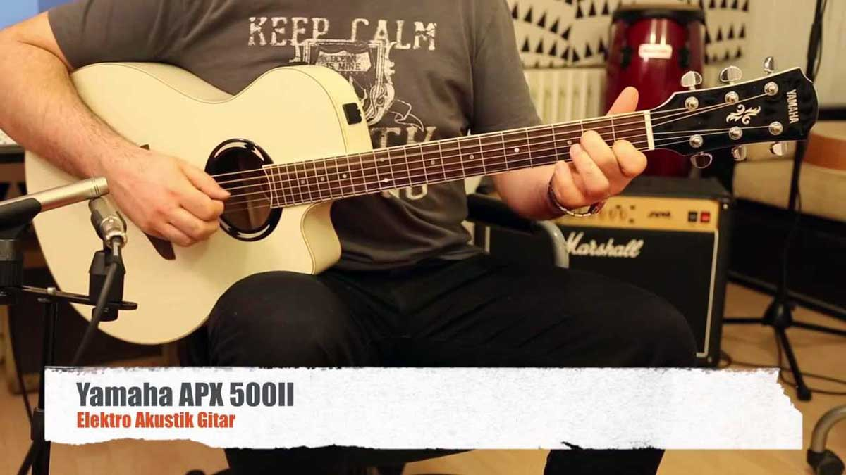 Yamaha APX Acoustic Guitars
